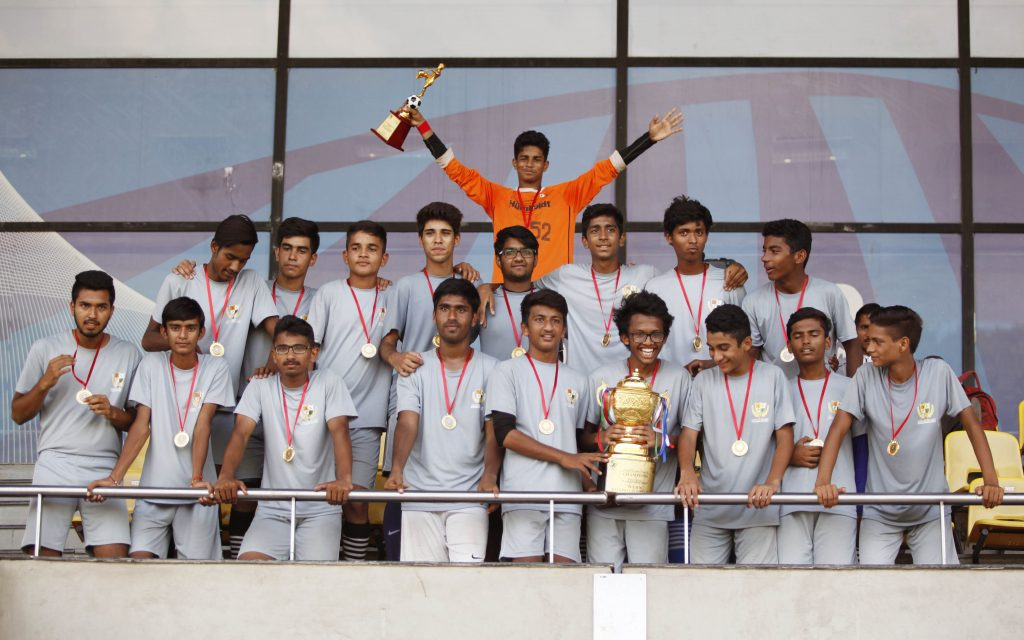 Haryana team celebrates the title triumph with this special photograph