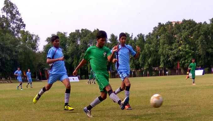 Odisha presses forward against Telangana in a crucial match.